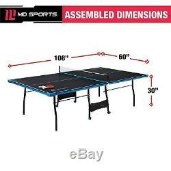 MD Sport Officiel Taille 15 MM Intérieur De Tennis De Table, Piscine Intérieure Salle De Sport