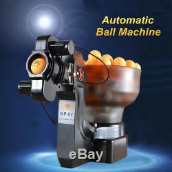 Machine Automatique De Boule De Robots De Tennis De Table De Robot De Ping-pong Hp-07 Pour Le Train Pp