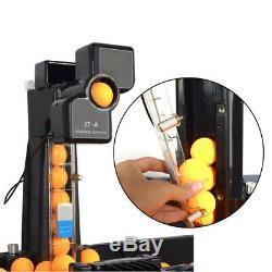 Machine Automatique De Train De Balle De Ping-pong De Robot De Tennis De Table Automatique Des États-unis Avec Le Filet De Capture