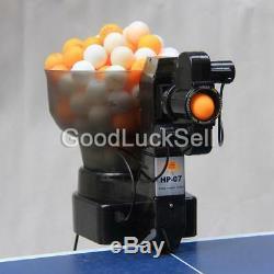 Machine De Boule De Ping-pong Automatique Hp-07 Machine De Balle De Robot De Table Robots Us Stock