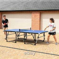Mesas De Tenis De Mesa Vermont Mesas De Ping Pong Plegables + Raquetas/pelotas