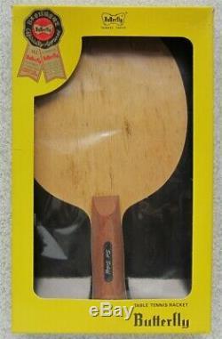 Modèle Butterfly Sol Schiff Élégance Modèle Raquette Tennis De Table Mib