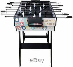 Multi-fonction 4 En 1 Combo Table De Jeu Football, Hockey, Piscine Et Tennis De Table