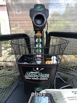 Newgy Robo Pong 1050 Tennis De Table Automatique Ping Pong Shooter Machine Robot