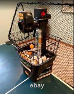 Newgy Robo-pong 1040+ Tennis De Table / Ping Pong Robot Utilisé 3 Douzaines De Balles Incl