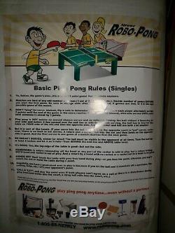 Newgy Robo-pong 2040 Tennis De Table / Ping-pong Robot + Balls (beaucoup D'entre Eux.)