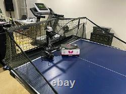 Newgy Robo-pong 3050xl Tennis De Table / Robot Ping Pong Avec De Nouvelles Balles Papillon