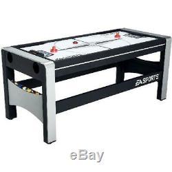 Nouveau Combo Pivotante Table De Jeu 72 4-in-1 Pool De Hockey Ping-pong + Accessoires