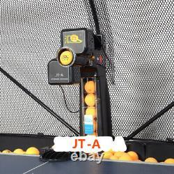 Nouveau Jt-a Automatic Table Tennis Robot Ping Pong Ball Train Machine & Catch Net