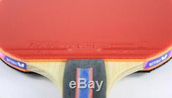 Nouveau Papillon Bty702-fl Ping Pong Paddle Secouer Tennis De Table Racket Main