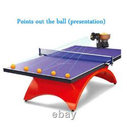 Nouvelle Hp07 Pro Ping Pong Table Tennis Robot Auto Ball Training Drilling Machine