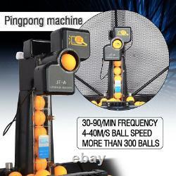 Nouvelle Machine Automatique De Balle Automatique De Tennis De Table De 240w Jt-a Ping Pong Balls Avec Le Filet