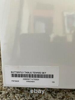 Nouvelle Raquette Suprême De Tennis De Table Papillon Ensemble Ping-pong 100% Authentique
