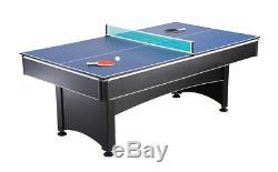 Nouvelle Table De Piscine 2-en-1 Avec Plateau En Feutre Rouge Et Table De Ping-pong De Ping-pong Multi Game
