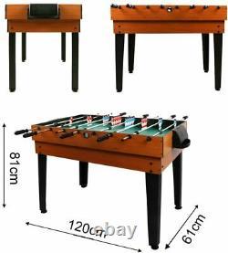 Open Box Arcade Table Air Hockey Foosball Ping Pong Billard Salle De Jeu 4ft