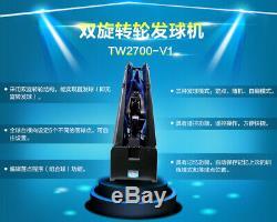 Oukei Ping-pong Tennis Robot Tw-2700-v1. Machine De Boule, Avec Net! Great Deal