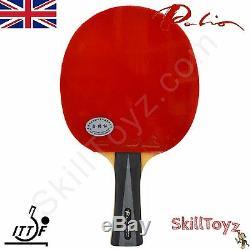 Palio 4 Étoiles Raquette De Tennis De Table Energy Energy 06 Ak47 Caoutchoucs + Étui