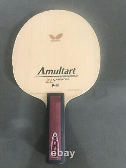 Papillon Amultart Zl Carbon Blade Shakehand (st) Tennis De Table Paddles Bat