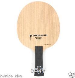 Papillon Freitas Alc Fl Poignée Ping-pong Lame Raquette De Tennis De Table