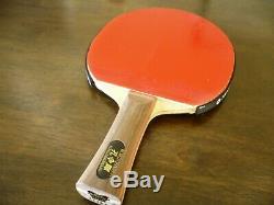 Papillon Tennis De Table Lame Kong Linghui Vieux Métal Tag G # G Fl