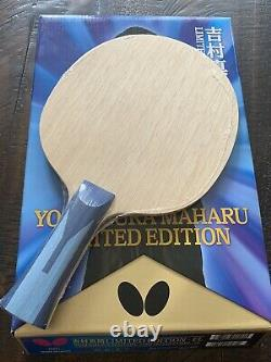 Papillon Tennis De Table Lame Limited Edition Signée New Sealed Last One