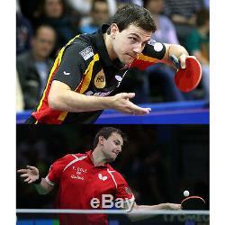Papillon Timo Boll Spirit Blade Shakehand (st / Fl) Pagaies De Tennis De Table Ping Pong