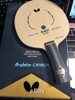 Papillon Zhang Jike Alc Fl Lame Tennis De Table, Ping Pong Racket W Yasaka Caoutchouc