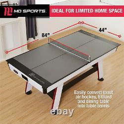 Ping Pong Table Conversion Top Convertir Table De Billard Avec Capitonné Table Tennis Top