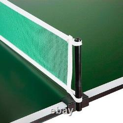 Ping Pong Table Conversion Top Game Room Regulation Size Table Tennis W Net