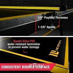 Ping Pong Table Tennis Et Boules Set Pagaies Sports De Plein Air Intérieur Taille Officiel