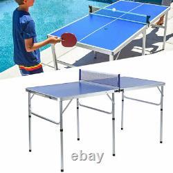 Ping Pong Tennis De Table Pliage Taille Énorme Jeu Ensemble Pong Accessoire Indoor Sport