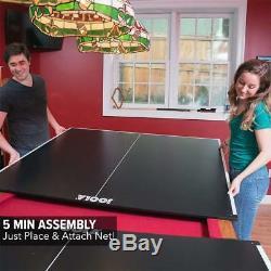 Ping Pong Tennis De Table Top Avec Support Mousse Table De Billard Conversion Top