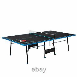 Ping Pong Tennis Table Paddles And Balls Set Indoor Outdoor Sports Taille Officielle