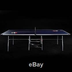 Ping-pong De Tennis De Table 4 Pièces MD Sports Play Indoor Pour Enfants, Repliable 9'x5