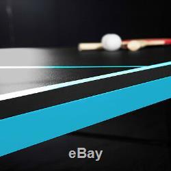 Ping-pong De Tennis De Table 4 Pièces MD Sports Play Intérieur-extérieur Pour Enfants, Repliable 9'x5