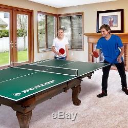 Ping-pong Taille Officielle Conversion Top Over Table De Billard Convient Pour Enfants Salle De Jeux
