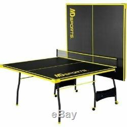 Ping-pong Tennis De Table Pliante Taille Énorme Jeu Jeu Intérieur Extérieur Sport Ensemble Complet