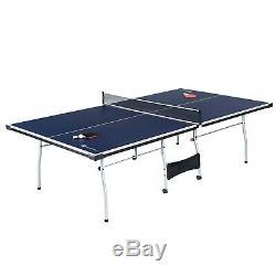 Ping-pong Tennis De Table Pliante Tournoi Taille Du Jeu Jeu Intérieur Sport Chambre Roues