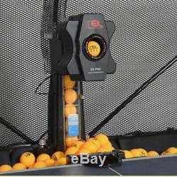 Ping-pong Tennis Robot De Formation Points Machine Multi Landing Withcatch Net