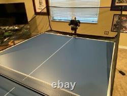Power Pong 3000 3 Robot De Tennis De Table À Moteur, Balles & Ball Basket