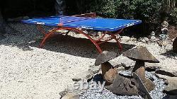 Pré-commander Unique Pretty Quality Outdoor Table Ping Pong Table La/fl/nj/tx