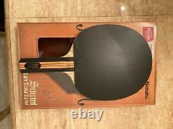Pro Tennis De Table Racket Acoustique St Nittaku Grande Poignée Tout Le Bois Tenergy 05 Max
