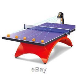 Profession Jt-a Automatique Robot Tennis De Table De Ping-pong Train Machine & Epuisette