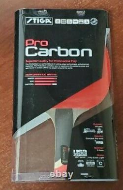Racket De Tennis De Table De Niveau De Performance Carbone Stiga Pro Technologie De Carbone T1290