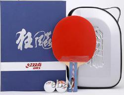 Racket De Tennis De Table De Ping-pong Haut De Gamme Dhs Nice, Hurricane #1/#2. États-unis