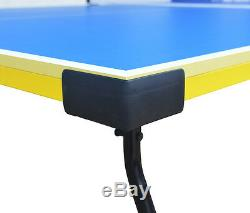 Règlement Taille Tennis De Table De Ping-pong Carmelli Bounce Back Avec Raquettes Et Balles