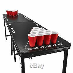 Retournez Pong Party Cup & Bière De Table! 8 Pieds De Qualité Professionnelle! Pro Series