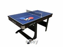 Riley Fp-5b 5ft Pliante Table De Billard De Luxe De Tennis De Table Plan De Travail De 2nds