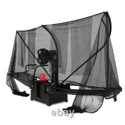 Robot Automatique De Tennis De Table Ping Pong Balls Training Machine & Recycle Net