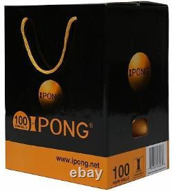 Robot D'entraînement De Tennis De Table Ipong V300 Solo + Net + 100 Boules Nouveau Modèle Amélioré